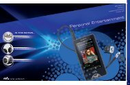 Personal Entertainment - Sony Centre - Sony Australia