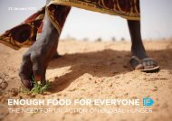 THE NEED FOR UK ACTION ON GLOBAL HUNGER - Enough Food IF