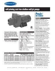 self-priming cast iron shallow well jet pumps - Pump Express