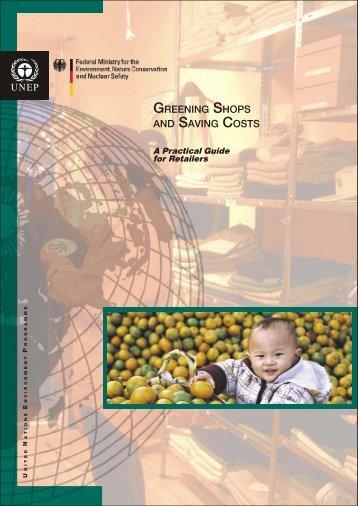Greening shops and saving costs - Caribbean Environmental Health ...