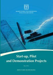 Start-up, Pilot and Demonstration Projects