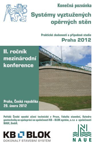 Pozvánka na II. mezinárodní konferenci Systémy vyztužených ...