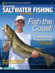 Cod Spawning Protection Area - New Hampshire Fish and Game ...
