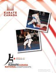 2012 KARATE CANADA NATIONAL CHAMPIONSHIPS (V.2 ...
