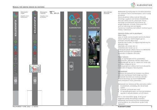 Manual for grafisk design og skiltning - Friluftsrådet