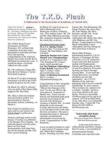 April - USTF Region 5 website