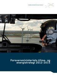 Forsvarsministeriets klima- og energistrategi 2012-2015