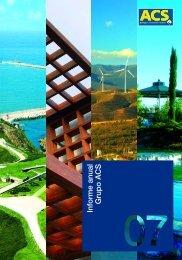 Informe anual Grupo ACS