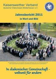 Jahresbericht herunterladen - Kaiserswerther Verband