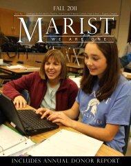 FALL 2011 - Marist Catholic High School