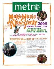 Sunday june 21st - Make Music New York