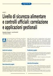 correlazione e applicazioni gestionali - SIVeMP