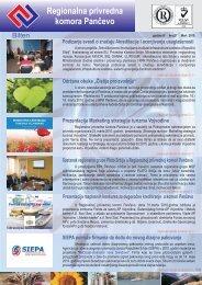 Bilten br.27 - Regionalna Privredna komora Pančevo
