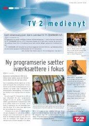 Ny programserie sætter iværksættere i fokus - Tv2