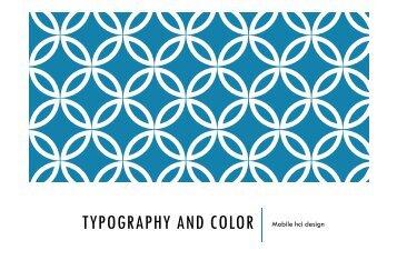 David on Typography 1 - HCI