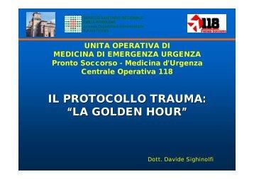 Protocollo trauma maggiore
