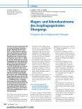 Magen- und Adenokarzinome des ösophagogastralen Übergangs ... - Seite 2