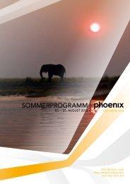 Sommerprogramm 2/13 - Phoenix