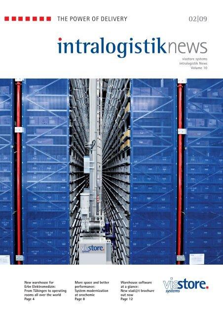 intralogistik NEWS 2 / 2009 ... - viastore