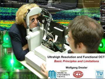 Basic Principles and Limitations - Center for Biomedical Optics and ...
