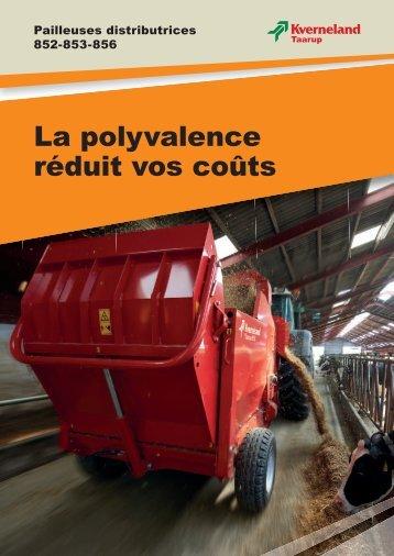 Pailleuses - Jacopin Equipements Agricoles