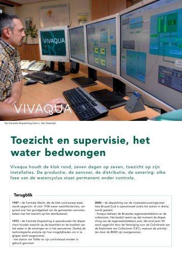 De informatiefiche over toezicht en supervisie downloaden - Vivaqua