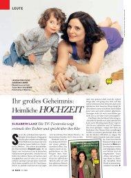 Ihr großes Geheimnis: Heimliche HOCHZEIT - Elisabeth Lanz