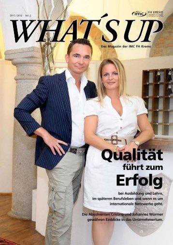 Qualität Erfolg - IMC Fachhochschule Krems GmbH
