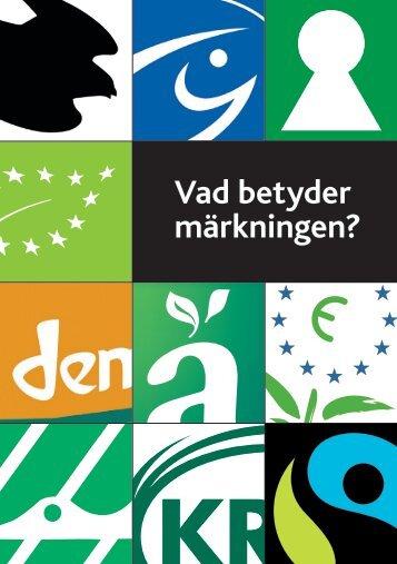 Vad betyder märkningen? - Konsumentföreningen Stockholm