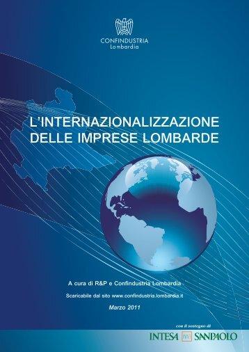 L'internazionalizzazione delle imprese lombarde ... - OsserVa