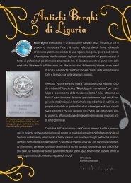 Antichi Borghi di Liguria - Comune di Savona