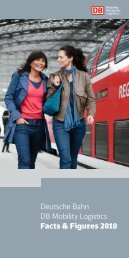 Deutsche Bahn DB Mobility Logistics Facts & Figures 2010