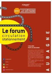 Acte 3 : les décisions - Site officiel de la ville d'Aubagne en ...