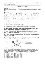 atividade pratica networkEmulator 3 lab fadom.pdf - Prof. Eng ...