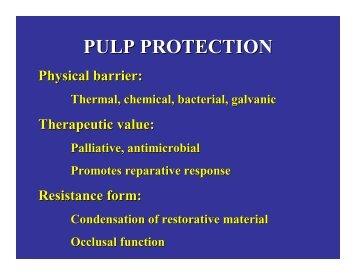 Pulp exposure