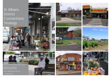 St Albans District Connections Strategy 2011 - Brimbank City Council