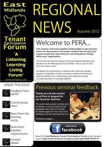 November 2012 - Nottingham City Homes