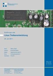 Einführung in die Linux Treiberentwicklung - NTB - Interstaatliche ...