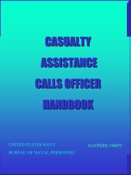 casualty assistance calls officer handbook - Selected Independent ...