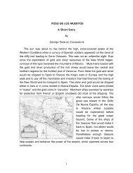 1 POSO DE LOS MUERTOS A Short Story By George Pararas ...