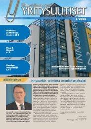 Innoparkin toiminta moninkertaiseksi - Kehittämiskeskus Oy Häme