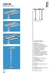 Stehleuchten LSTL 2 - Litec Leuchten GmbH
