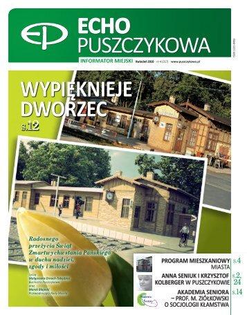 Kwiecień 2010 - Puszczykowo, Urząd Miasta