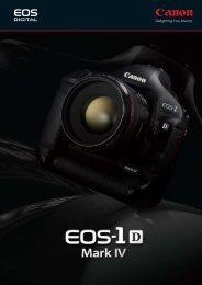EOS-1D - Canon Marketing (Philippines)