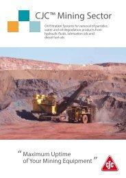 Mining Sector Brochure - Cjc.dk