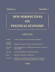 Volume 5, Number 1 - PCPE—Prague Conference on Political ...