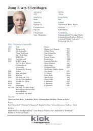 Jenny Elvers-Elbertzhagen - kick-schauspieler