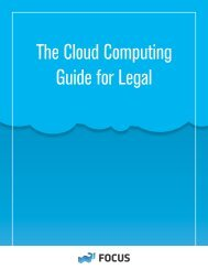 The Cloud Computing Guide for Legal - Net