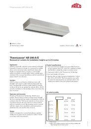 Thermozone® AR 200 A/E - tormax danmark a/s