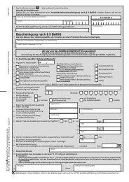 Bescheinigung nach § 9 BAföG - Zentraler Thüringer Formularservice